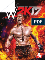 WWE 2K17 PS4 Online Manual
