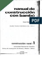 Manual de Construcao Com Bambu