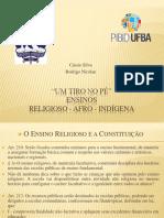 Ensino Religioso - Afro - Indigena