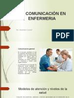 La Comunicación en Enfermeria