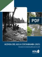Agenda Del Agua Cochabamba 2017