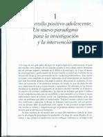 0. Oliva , 2015 .Cap. 1 El Desarrollo Positivo Adolescente (1)