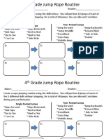 jump rope routine