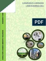 Brochure - Consultoria y Constructora Cruz Ramirez s.r.l.