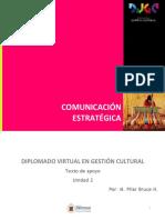 Curso Comunicación Estratégica, Texto de Apoyo Unidad 2 2016