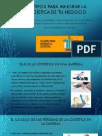 11 tipos para mejorar la logística de tu.pptx
