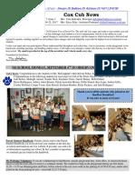 Cox News Volume 7 Issue 1