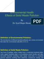 Environmental Health - Sold Waste