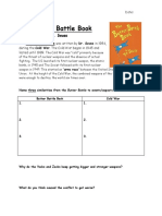 the butter battle book handout