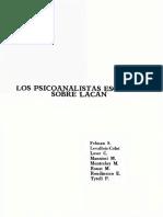 Varias Autoras - Las Psicoanalistas Escriben Sobre Lacan