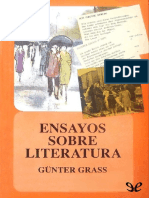 Grass, Gunter (1980) - Ensayos Sobre Literatura