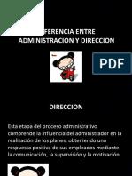 Diferencia Entre Administracion y Direccion (1)