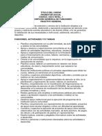 Funciones de Un Promotor Social, Jose Manuel