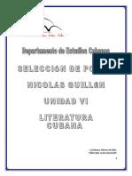 Nicolás Guillén.selección de Poesías