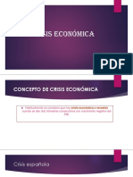 Crisis Economica PRESENTACION