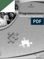 Programaciones 7§-11§ Espa¤ol (2011)