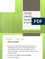 Family Health Issues