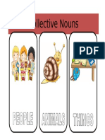 Collective Nouns Exercise