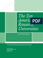 Mup 2014 Top American Research Universities Annual Report