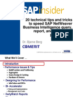 739-20-technical-tips-and-tricks-to-speed-sap-netweaver-business-intelligence-query-performance.ppt