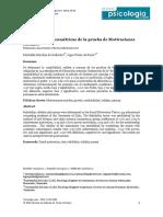 PPN2 Propiedades Psicométricas de La Prueba de Motivaciones Sociales