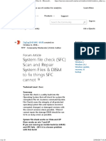 System File Check SFC Scan and Repair System Files Microsoft Community