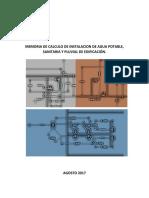 Memoria de Calculo de Red Hidraulica%2csanitaria y Pluvial. (3)