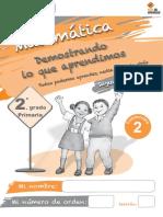 Cuadernillo2 Matematica 2do Trimestre 2do Grado