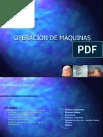 Nº32 OPERACIÓN DE MÁQUINAS