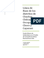 Informe Linea de Base Región Arequipa