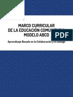 Marco Curricular ABCD 16-08-2016