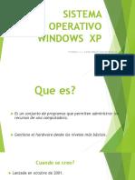 S.O. WINDOWS XP