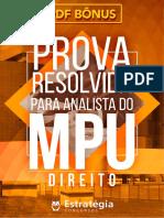#Apostila - Prova Resolvida Para Analista do MPU - Direito (2017) - Estratégia Concursos.pdf