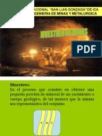 Muestreo de Minas