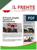 Boletín Frente Amplio Lima Metropolitana