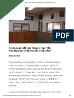 A Lineage All but Forgotten_ the Yushinkan (Nakayama Hakudo) _ Kenshi 24_7