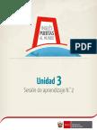 SESION DE INGLES EDUCACION SECUNDARIA