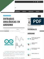 Www Luisllamas Es Entradas Analogicas en Arduino