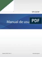 Galaxy S6 Manual Spanish Language SM G920 Lollipop