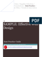 Web Design Best Practice Guide