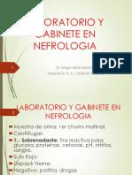 Laboratorio y Gabinete en Nefrologia.