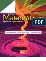 Introducción a Las Matemáticas - Ejercicios y Problemas