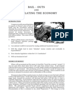Bailouts and Stimulus by Bill Denman