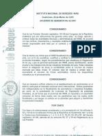Acuerdo 42-2003 Rendimientos