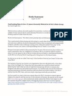 DJKM Media Statement 8-16-17