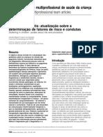 Andrade 1997 - Gagueiras Infantis Atualização Sobre a Determinação de Fatores de Risco e Condutas