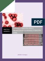 MGII Practica 13 Hemaglutinación Viral e Inhibición de La Hemaglutinación Viral