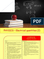 Physics 28 - Electrical Quantities 2