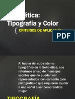 Tipo y Color