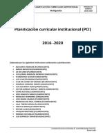 PCI Instituciones Uni Pluridocentes